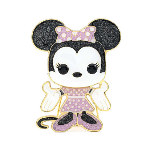 Disney Minnie Mouse Large Enamel Pop! Pin #02
