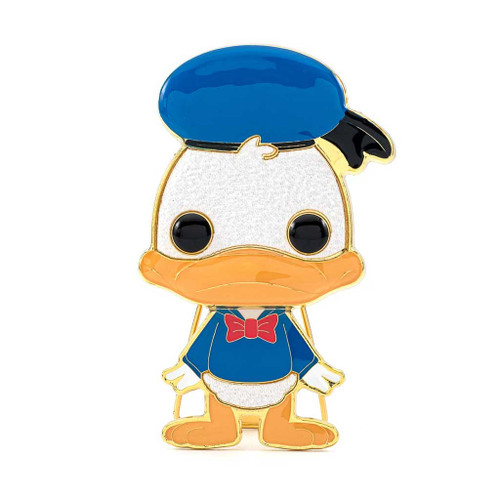 Disney Donald Duck Large Enamel Pop! Pin #03