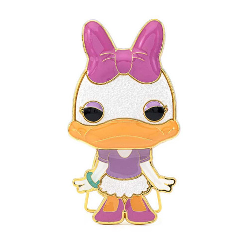 Disney Daisy Duck Large Enamel Pop! Pin #04