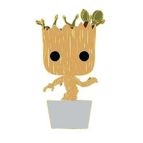 Guardians of the Galaxy Baby Groot Large Enamel Pop! Pin #09