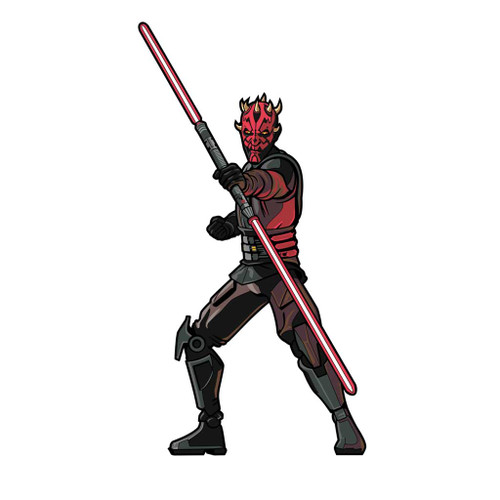 Darth Maul The Clone Wars FiGPiN Enamel Pin #519