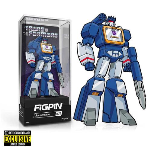 Transformers G1 Soundwave FiGPiN Enamel Pin Exclusive #672
