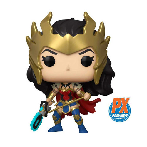 DC Death Metal Wonder Woman Pop! Vinyl Figure #385