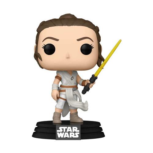 Star Wars Rey with Yellow Saber Pop! Vinyl Figure #432