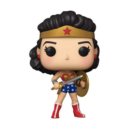 Wonder Woman 80th Anniversary Golden Age (1950's) Pop! Vinyl Figure #383
