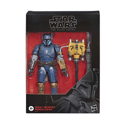 Star Wars The Black Series Heavy Infantry Mandalorian 6-Inch Action Figure