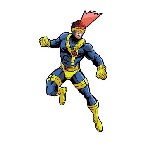 X-Men Cyclops Animated FiGPiN Enamel Pin #638