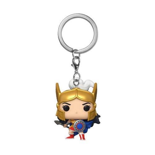 Wonder Woman 80th Anniversary Challenge Of The Gods Pocket Pop! Keychain