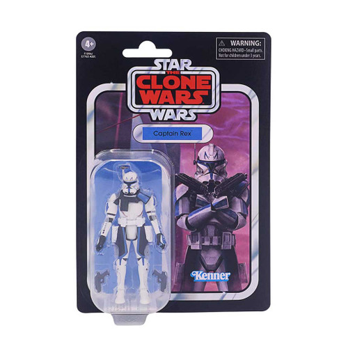 Star Wars The Vintage Collection Captain Rex Clone Wars Action Figure