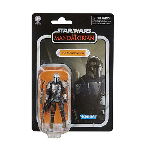 Star Wars The Vintage Collection The Mandalorian Beskar Armor Action Figure