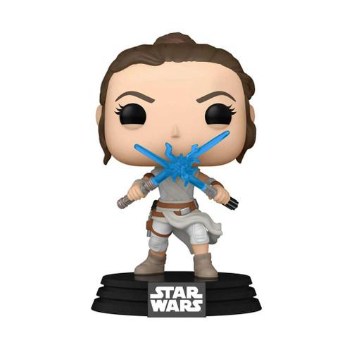 Star Wars Rey with 2 Light Sabers Rise of Skywalker Pop! Vinyl Figure #434