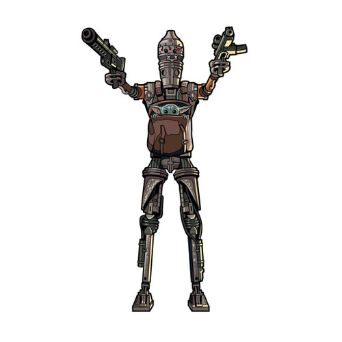 The Mandalorian IG-11 with The Child FiGPiN Enamel Pin #580
