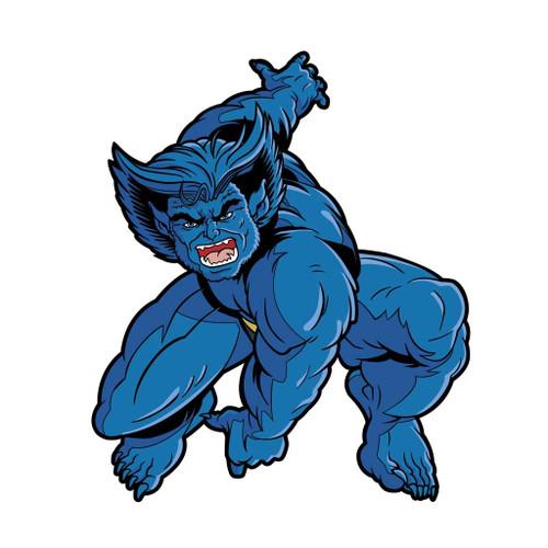X-Men Beast Animated FiGPiN Enamel Pin #640