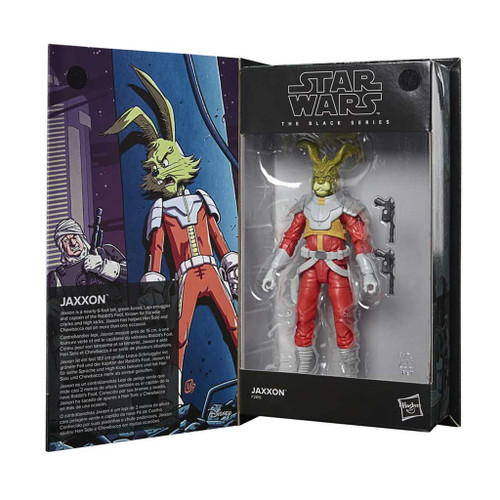 Star Wars Exclusive The Black Series Jaxxon Rabbit Comic 6 Inch Action Figure