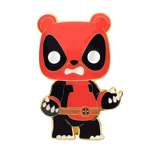 Deadpool Pandapool Large Enamel Pop! Pin #04