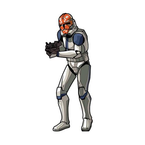 Star Wars Clone Wars Clone Trooper FiGPiN Enamel Pin #574
