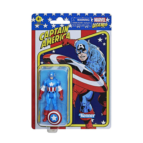 Marvel Legends Retro 375 Collection Captain America Action Figure