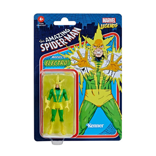 Marvel Legends Retro 375 Collection Electro Action Figure