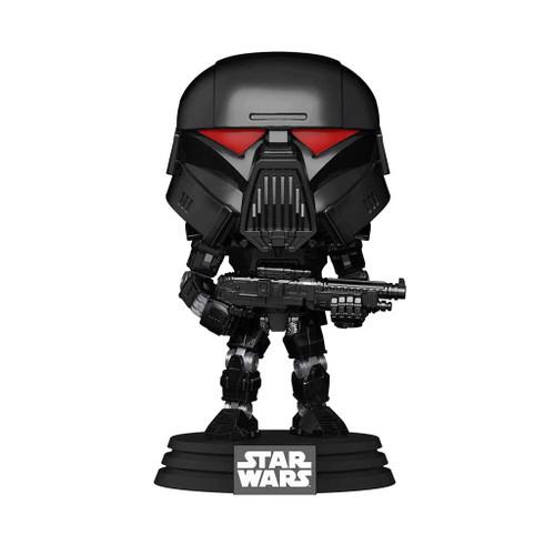Star Wars The Mandalorian Dark Trooper Battle Pop! Vinyl Figure #466