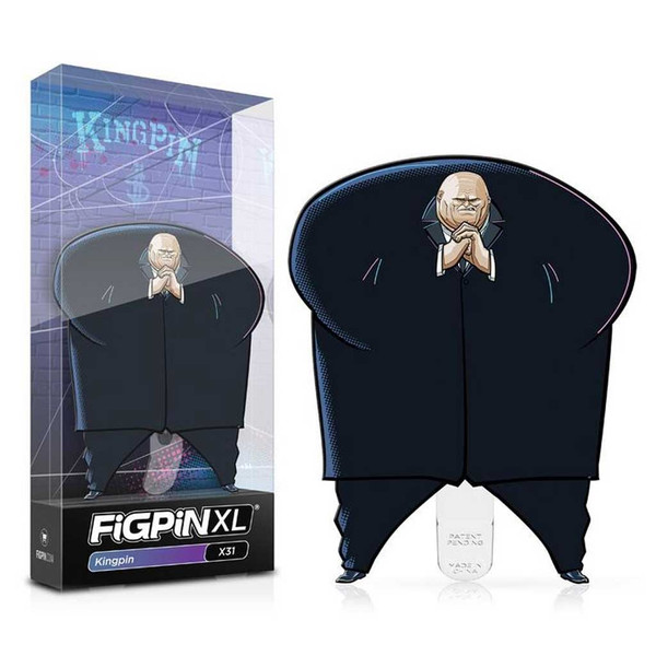 Spider-Man: Into the Spider-Verse FiGPiN XL Enamel Pin Kinpin #X31