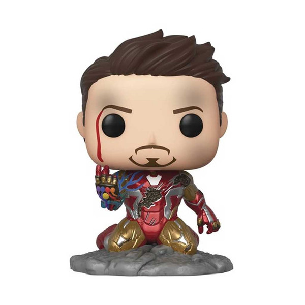 Marvel Avengers: Endgame I Am Iron Man Glow-in-the-Dark Deluxe Pop! Vinyl Figure #580