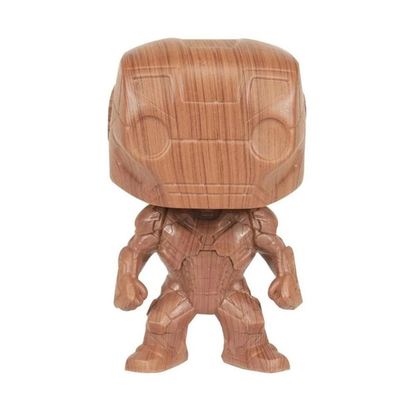 Marvel Iron Man Wood Deco Exclusive Pop! Vinyl Figure #674