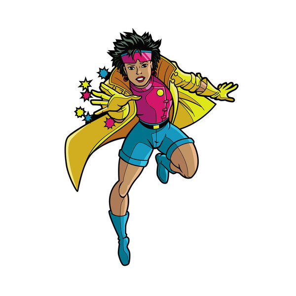 X-Men Jubilee Animated FiGPiN Enamel Pin #435