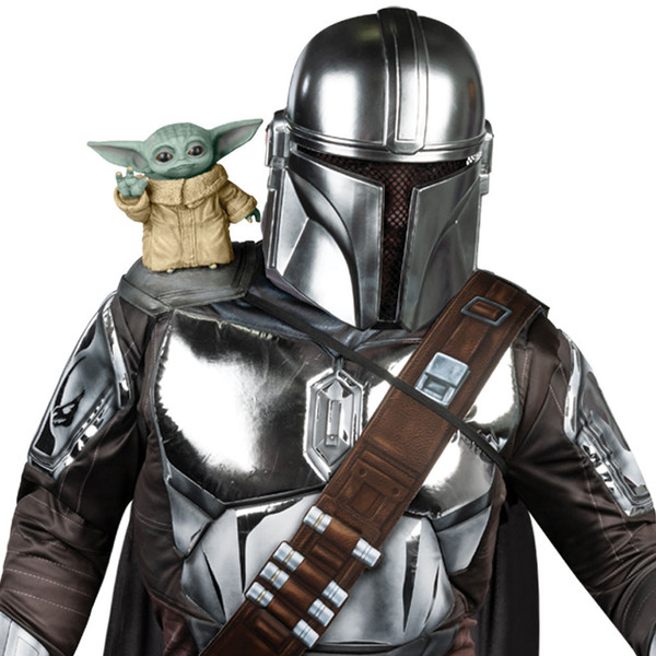 Star Wars The Mandalorian The Child Shoulder Sitter Costume Accessory