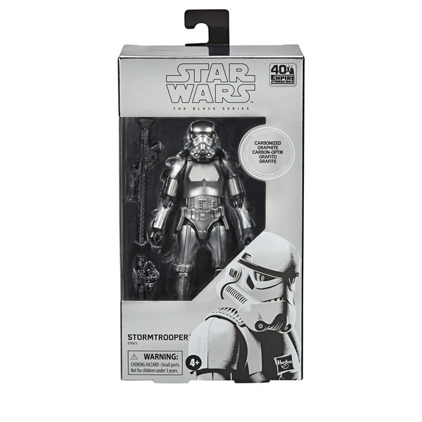 Star Wars The Black Series Carbonized Stormtrooper 6-Inch Action Figure new in box