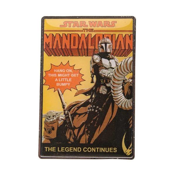 Star Wars The Mandalorian The Legend Continues Enamel Pin