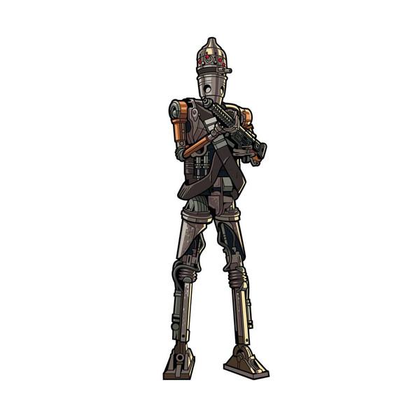 Star WarsThe Mandalorian IG-11 FiGPiN Enamel Pin #509 holding blaster