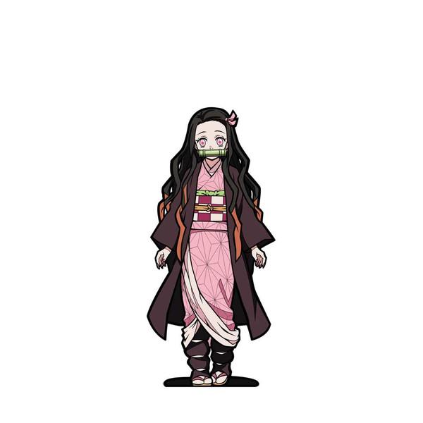 Demon Slayer Nezuko Kamado FiGPiN Enamel Pin #379