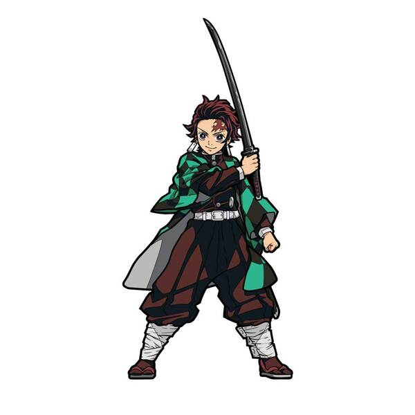 Demon Slayer Tanjiro Kamado FiGPiN Enamel Pin #378