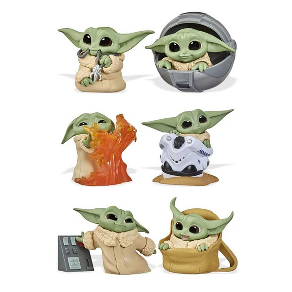 Star Wars The Mandalorian Baby Bounties Collector Set Wave 2