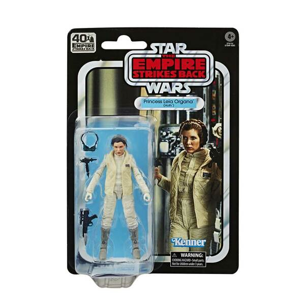 Star Wars The Black Series Princess Leia Organa (Hoth) Empire Strikes Back 40th Anniversary 6-Inch Action Figure