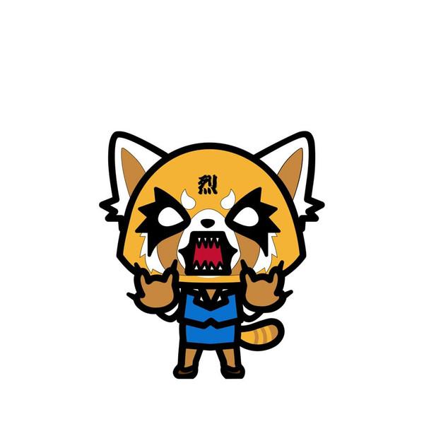 Sanrio Angry Aggretsuko FiGPiN Enamel Pin #484
