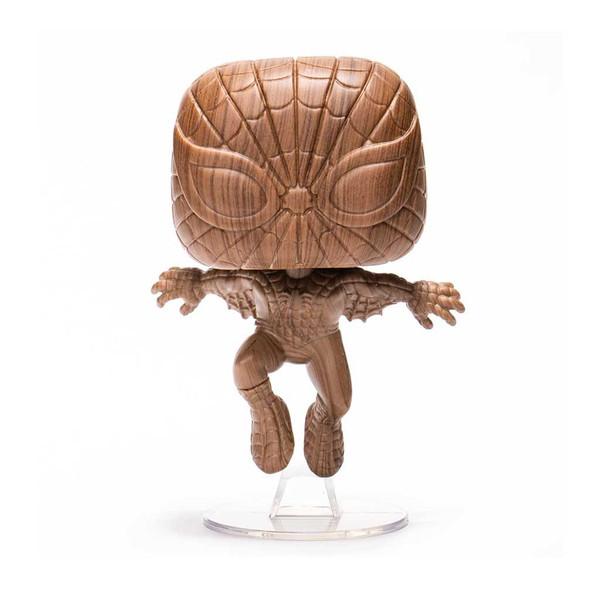 Marvel Spider-man Wood Deco Exclusive Pop! Vinyl Figure #719