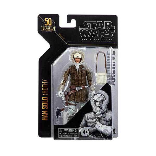 Star Wars The Black Series Han Solo Archive Empire Strikes Back 6-Inch Action Figure