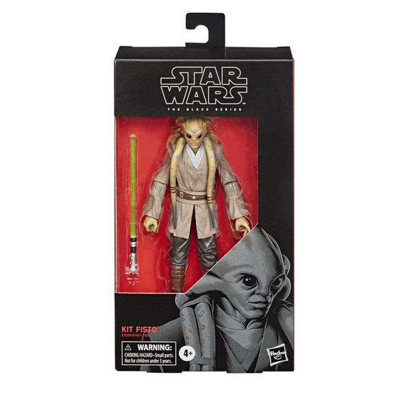 Star Wars The Black Series Kit Fisto Back 6-Inch Action Figure-