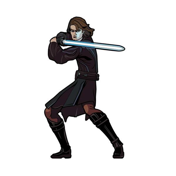 Star Wars Clone Wars Anakin Skywalker FiGPiN Enamel Pin #518