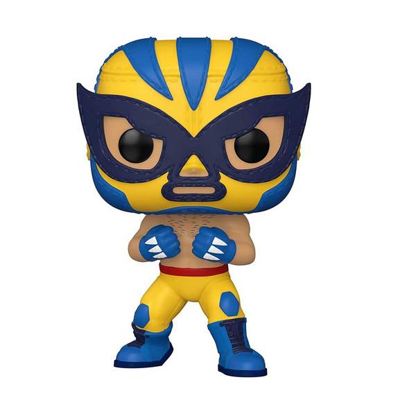 Marvel Luchadores El Animal Indestructible Wolverine Pop! Vinyl Figure #711