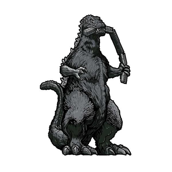 Godzilla FiGPiN XL Enamel #X39