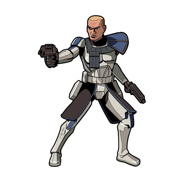 Captain Rex The Clone Wars FiGPiN Enamel Pin #573