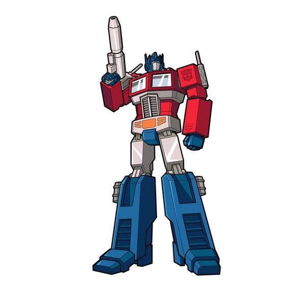 Transformers Optimus Prime FiGPiN Enamel Pin #667