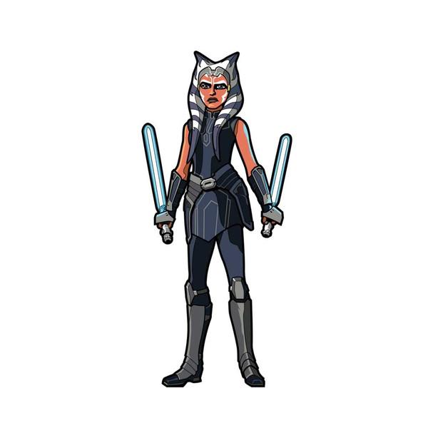 Ahsoka Tano The Clone Wars FiGPiN Enamel Pin #520