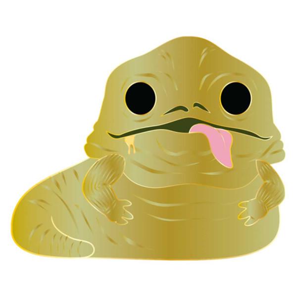 Star Wars Jabba the Hutt Large Enamel Pop! Pin #14