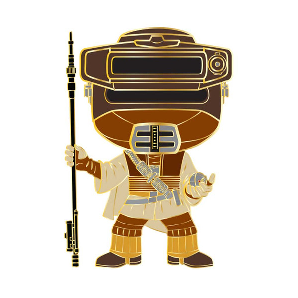 Star Wars Boushh Leia Large Enamel Pop! Pin #15