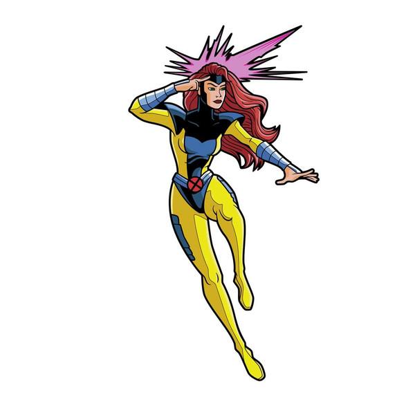 X-Men Jean Grey Animated FiGPiN Enamel Pin #639