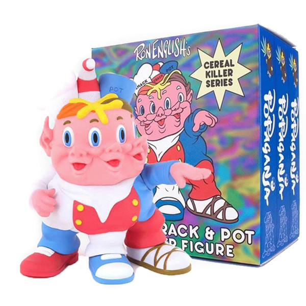 Cereal Killers Smack Crack and Pot by Ron English Designer Vinyl Figure