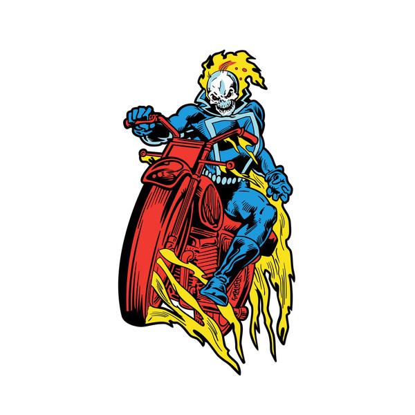 Marvel Classic Ghost Rider FiGPiN Enamel Pin #724